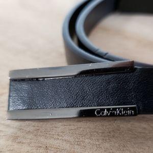 """Skinny Calvin Klein belt - fits 33""""-37"""" waist"""